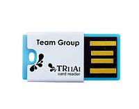 Card reader Team micro reader  TR11A1 USB2.0 blue  retail (T11A1L01)