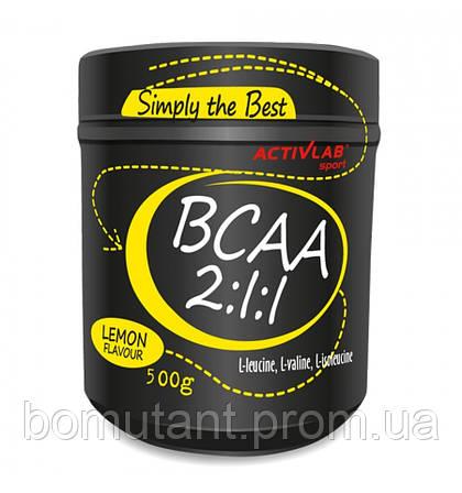 BCAA 2:1:1 500 гр lemon Activlab