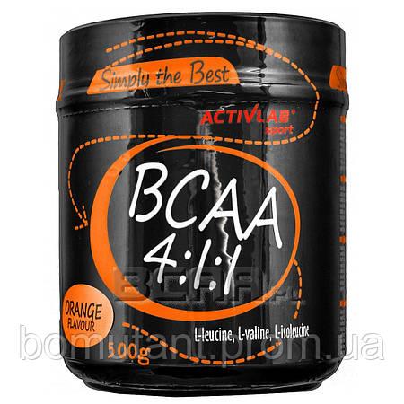 BCAA 4:1:1 500 гр orange Activlab