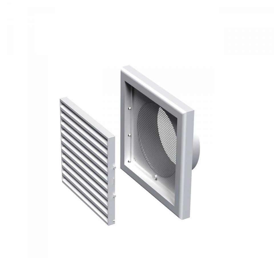 Решетка пластик., МВ 150с, настенная, прямоугольная