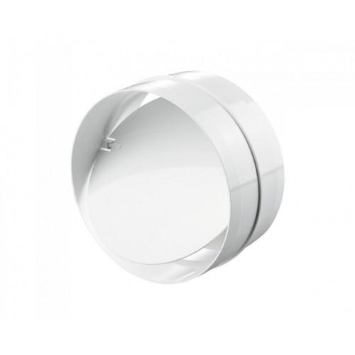 Соединитель с клапаном Пластивент, D=100 мм