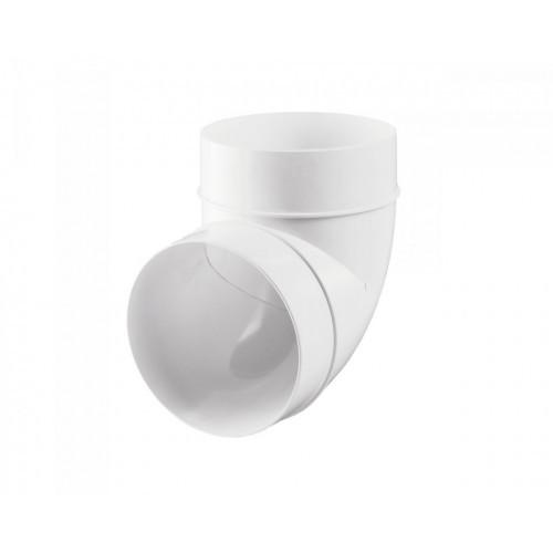 Колено Пластивент, D=100 мм