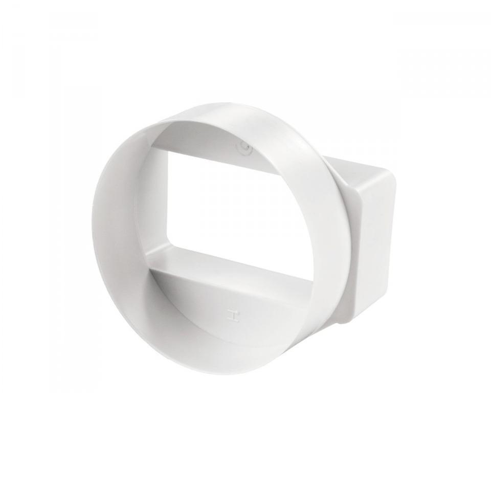 З'єднувач Пластивент, 204x60/125 мм