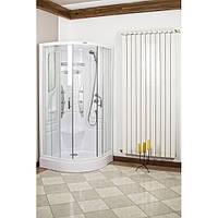 Гидромассажная душевая кабина PARIS, 90x90x200 см, полукруглая