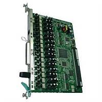Плата расширения Panasonic KX-TDA1180X для KX-TDA100D, 8-Port Analogue Trunk Card with CiD