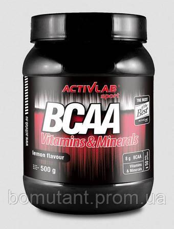 BCAA Vitamins & Minerals 500 гр orange Activlab