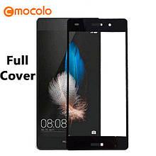 Защитное стекло Mocolo Full сover для Huawei P8 Lite черный