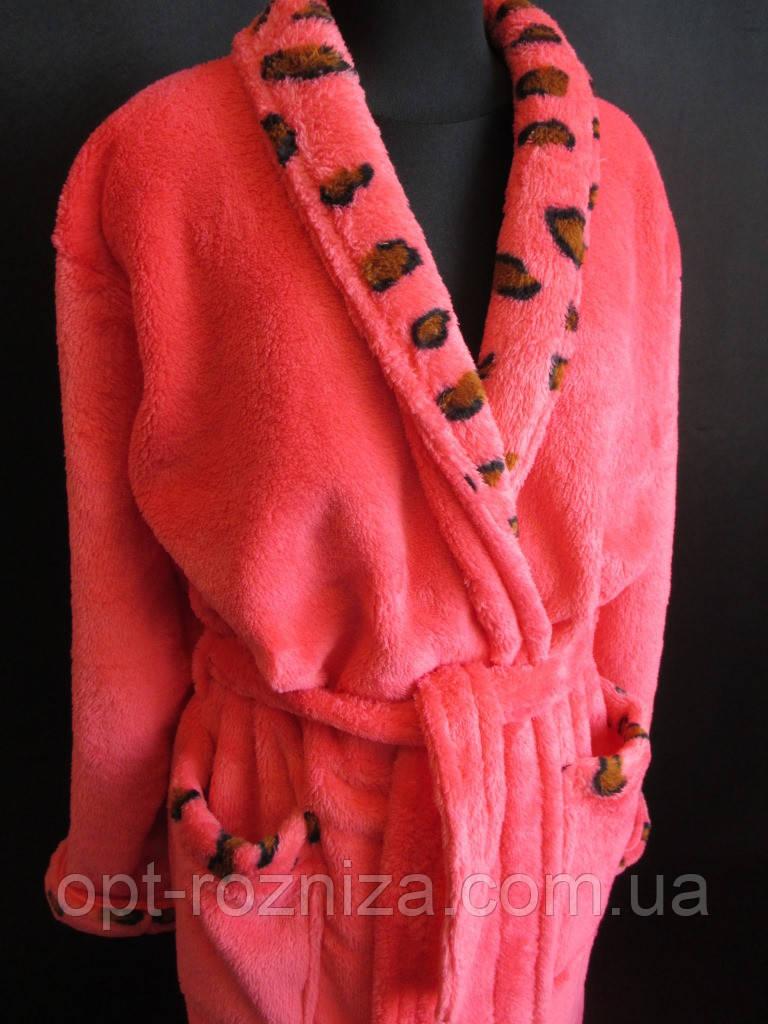 Длинные махровые халаты для женщин.