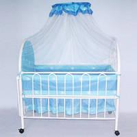 Кроватка 9230 металлическая