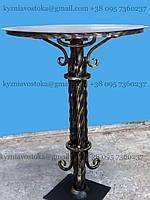 Стол на кладбище, ковка металл