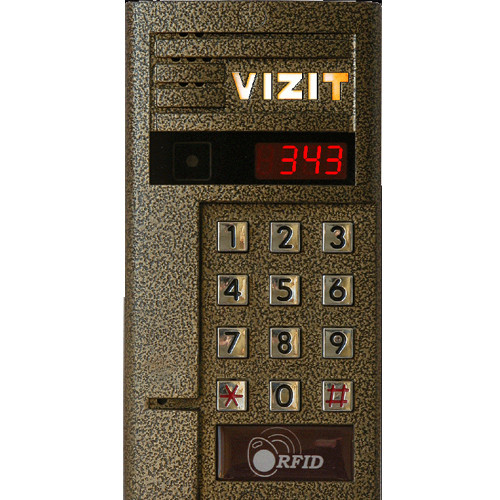 Блок виклику Vizit БВД-343R