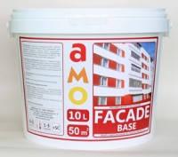 Краска фасадная Facade-Base АМО Фасад-Бейз 10л