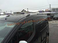 Рейлинги хромированные тип Premium на Renault Kangoo 1998-2008 короткая база
