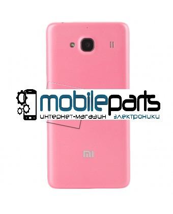 Оригинальная задняя панель (крышка) для Xiaomi RedMi 2 (Розовая)
