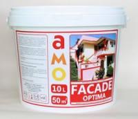 Фасадная краска Facade-Optima АМО Фасад-Оптима 10л