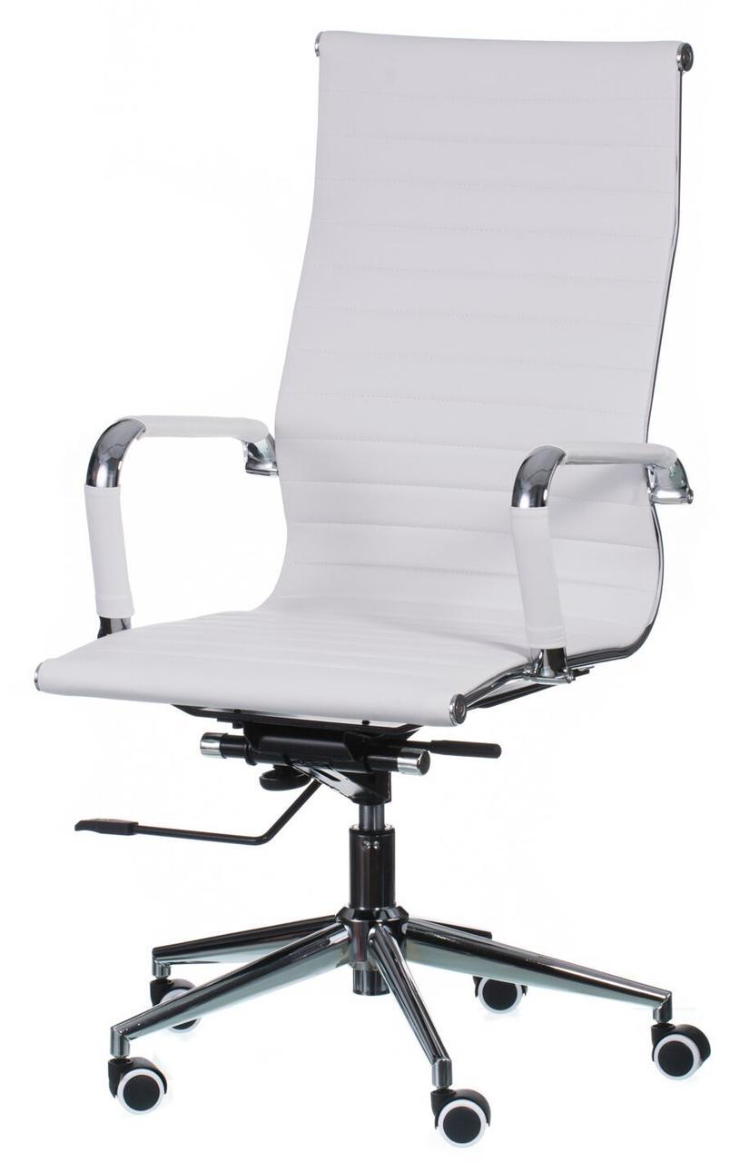 Кресло офисное Solano artleather white, TM Special4You