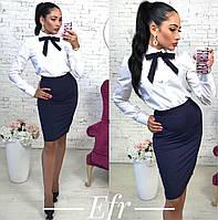 Женская стильная прямая юбка
