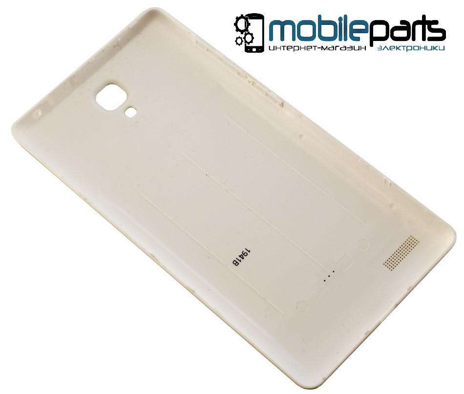 Оригинальная задняя панель (крышка) для Xiaomi RedMi Note (Белая)