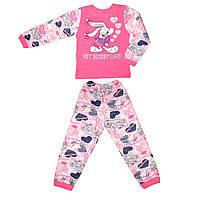 Начесная детская пижама Заюшка
