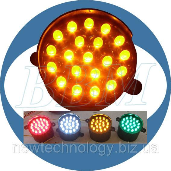 Модуль светодиодный 24В, 52 мм (красный/желтый/зеленый/белый)