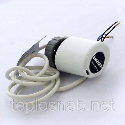 Электротермическая головка (сервопривод) EMMETI М 30х1,5 230В нормально закрытый, фото 2