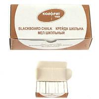 """Мел белый квадратный """"Колорит"""" 50 шт., 0,5 кг"""