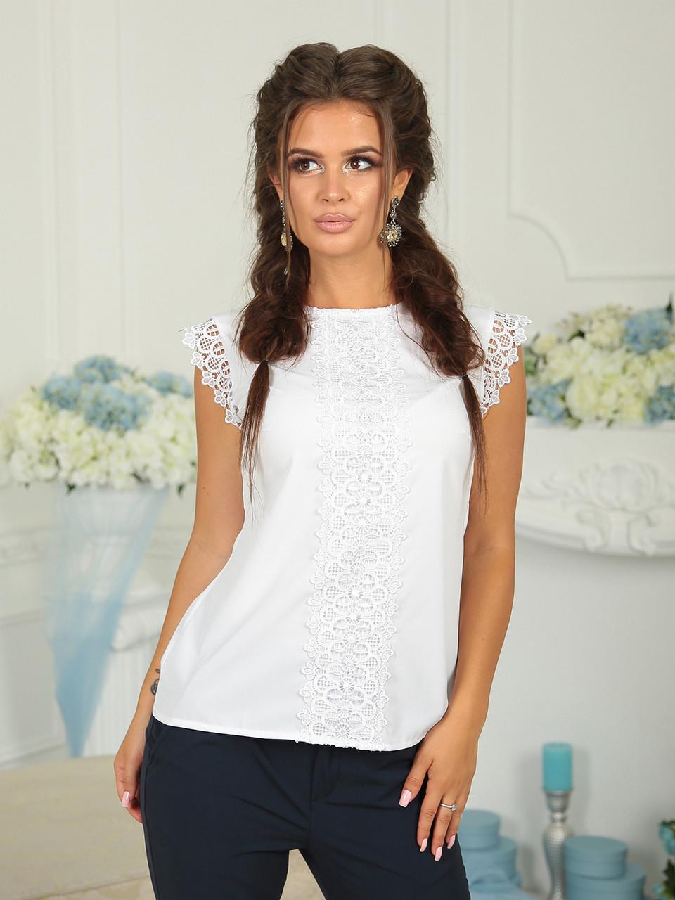 Блуза Вита Белая