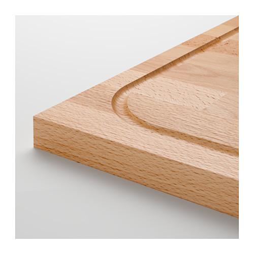 "ИКЕА ""ЛЭМПЛИГ"" Доска разделочная, бамбук, 46x53 см"