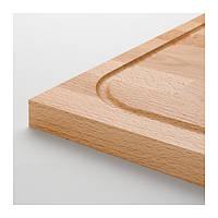 "ИКЕА ""ЛЭМПЛИГ"" Доска разделочная, бамбук, 46x53 см, фото 1"