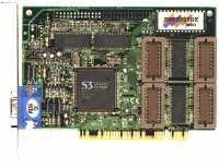 БУ Видеокарта PCI S3 Trio Virge Ver 1.3, 2MB, VGA (dsv3325dx)