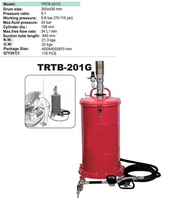 Маслонагнетательная установка пневматична TRTB-201G TORIN, фото 2