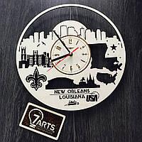Интерьерные часы на стену «Новый Орлеан, Луизиана»