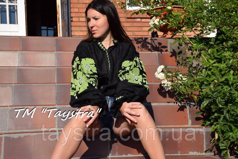 Вышиванка блуза вышитая в Бохо-стиле, этно, бохо