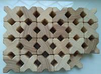 Кубик деревянный иксобразный