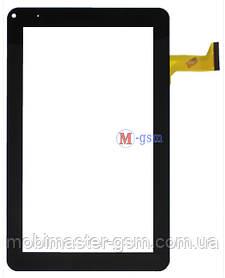 """Тачскрин (сенсорный экран) 9"""" Lenovo F7 (p/n: CZY6366A01-FPC) черный"""