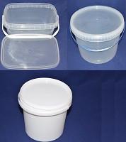 Ведра пластиковые пищевые