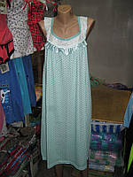 Ночная сорочка  удлиненная с рюшей Анжелика