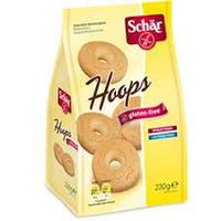 Печенье безглютеновое Hoops Dr.Schär 220г