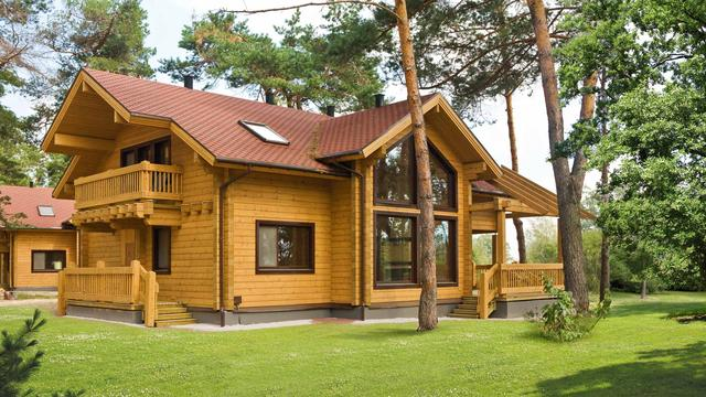 Выбираем дерево для постройки дома