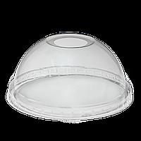 """Крышка пластиковая для купольного стакана  с отверстием """"Т""""  50шт"""