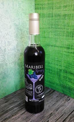 Сироп барный тм «Maribell» Виноград, фото 2