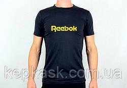 Футболка Reebok black-blue