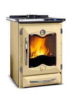 Отопительно-варочная печь с водяным отоплением La Nordica TermoCucinotta DSA Crema