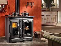 Отопительно-варочная печь с водяным отоплением La Nordica TermoSuprema Компакт DSA Nero, фото 1