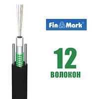 Оптический кабель FinMark UT012-SM-03-T, 12 волокон