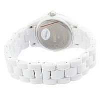 Часы с керамическим ремешком белые Skmei Арт. 1159WTB + Коробочка, фото 4