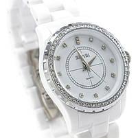 Часы с керамическим ремешком белые Skmei Арт. 1159WTB + Коробочка, фото 3