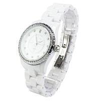 Часы с керамическим ремешком белые Skmei Арт. 1159WTB + Коробочка, фото 2