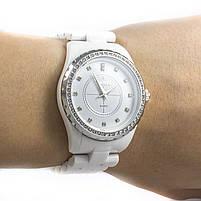 Часы с керамическим ремешком белые Skmei Арт. 1159WTB + Коробочка, фото 5