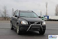 Защита переднего бампера (кенгурятник)  Chevrolet Captiva 2006-2010